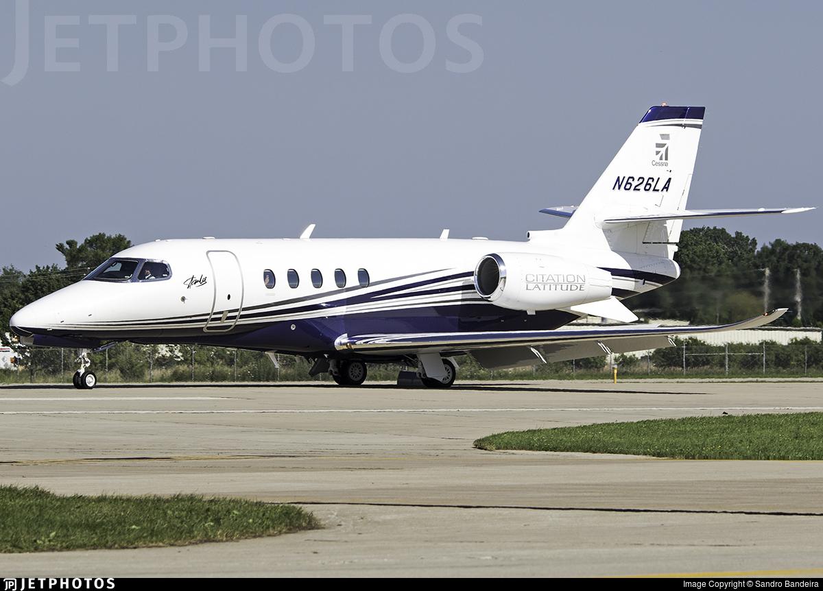 N626LA   Cessna Citation Latitude   Textron Aviation   Sandro