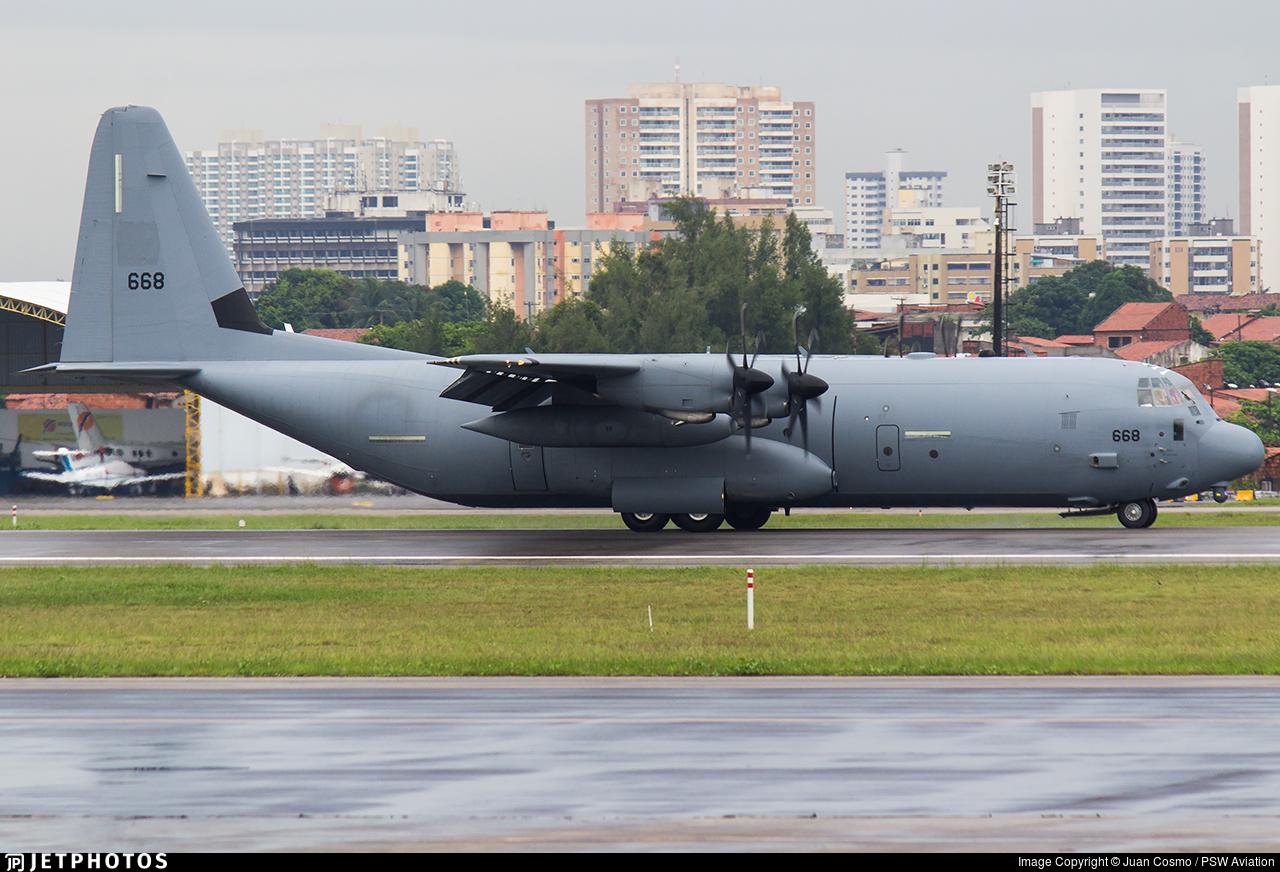 668 - Lockheed Martin C-130J-30 Samson - Israel - Air Force