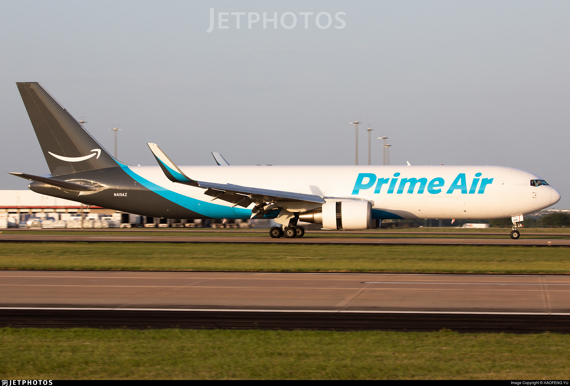 N419AZ - Boeing 767-319(ER)(BDSF) - Amazon Prime Air (Air Transport International)