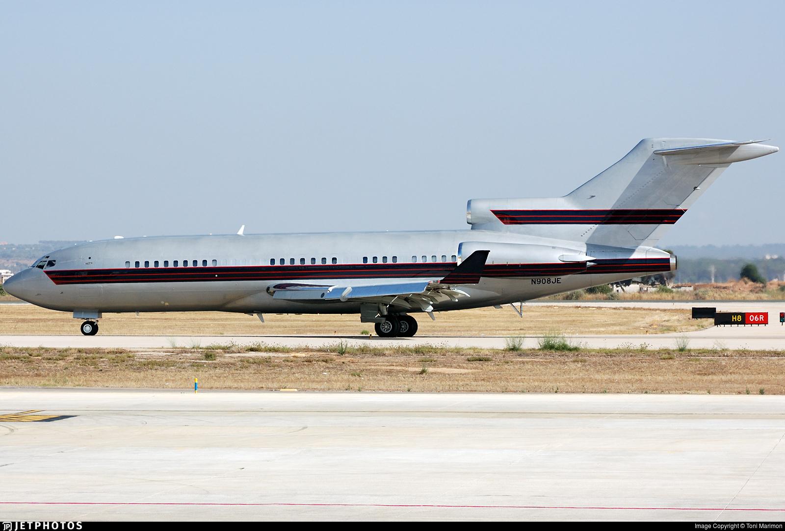 N908JE - Boeing 727-31 - Private