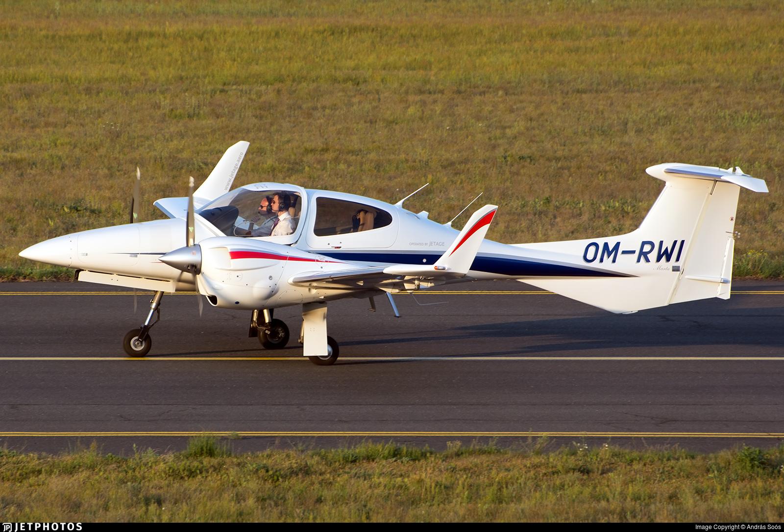 OM-RWI - Diamond DA-42 NG Twin Star - Private