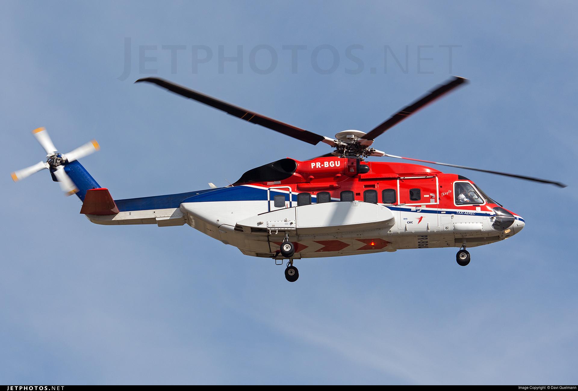 PR-BGU - Sikorsky S-92A Helibus - Private