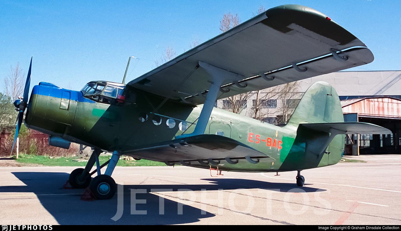 ES-BAC - PZL-Mielec An-2T - Private