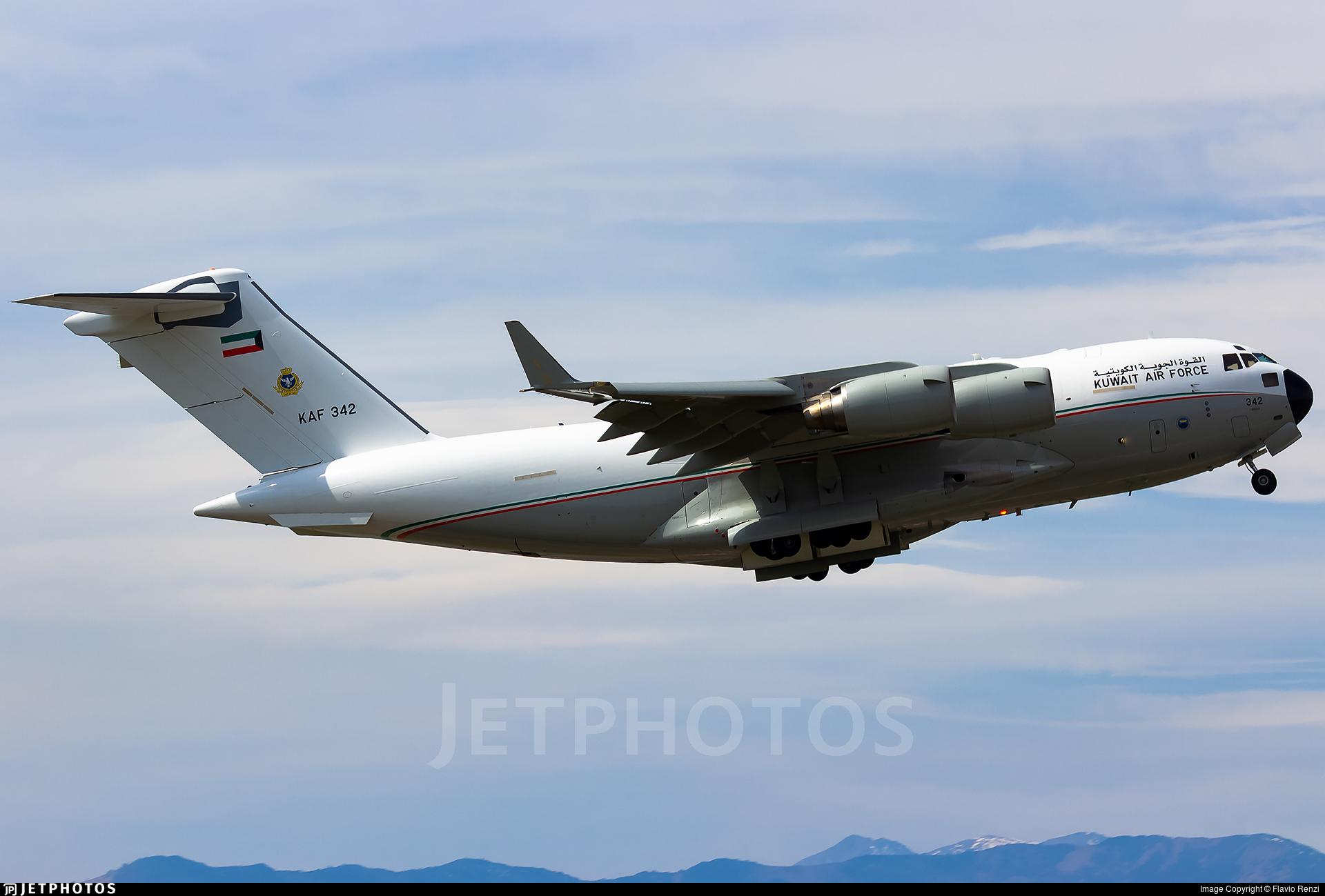 KAF342 - Boeing C-17A Globemaster III - Kuwait - Air Force
