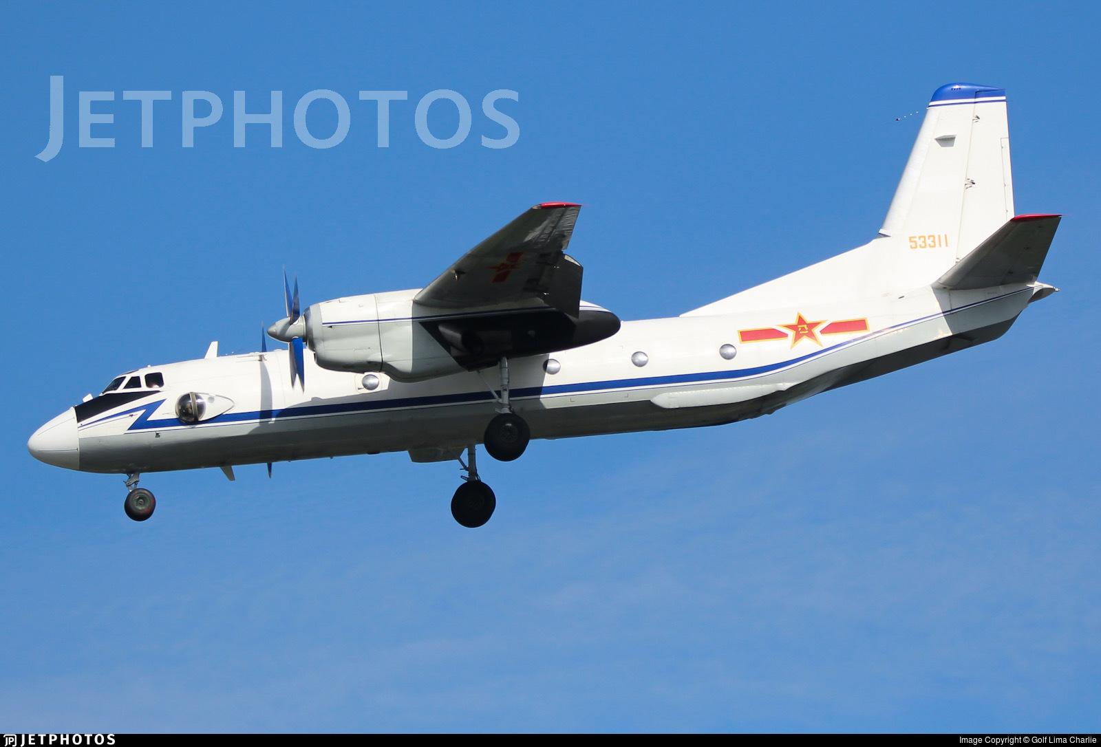 53311 - Xian Y-7 - China - Air Force
