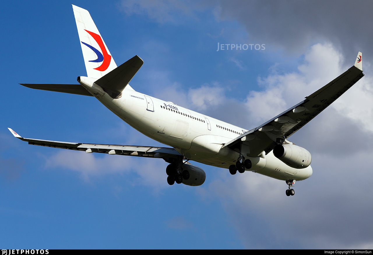 B-6082 - Airbus A330-243 - China Eastern Airlines