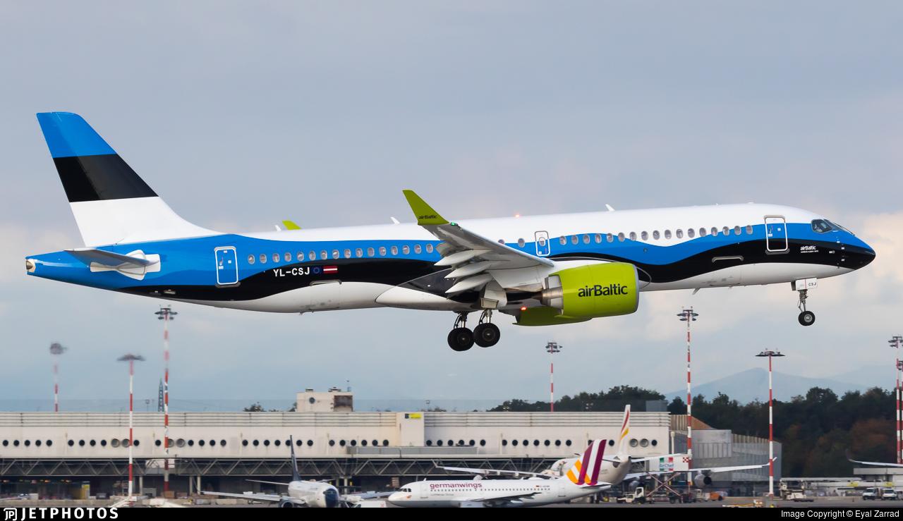 YL-CSJ - Airbus A220-371 - Air Baltic
