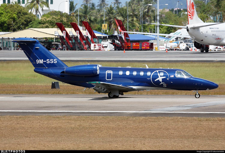 9M-SSS - Cessna 525 Citationjet CJ4 - MHS Aviation