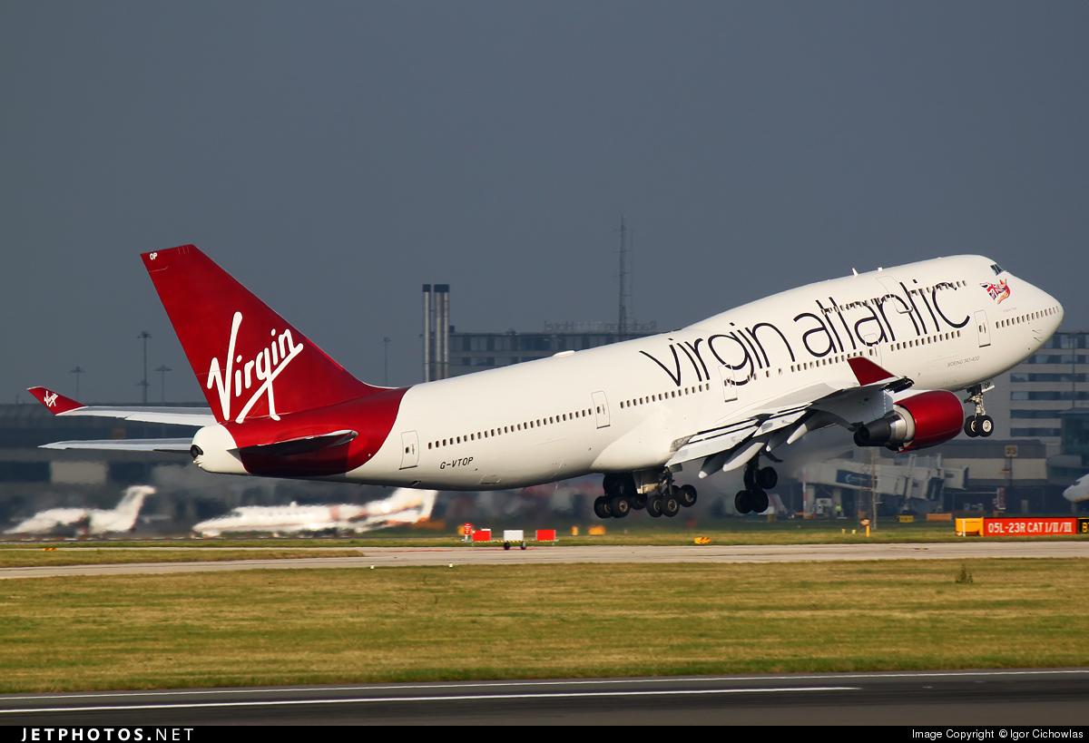 G-VTOP - Boeing 747-4Q8 - Virgin Atlantic Airways