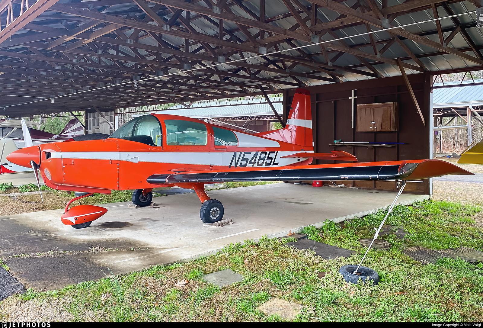 N5485L - Grumman American AA-5 Traveler - Private