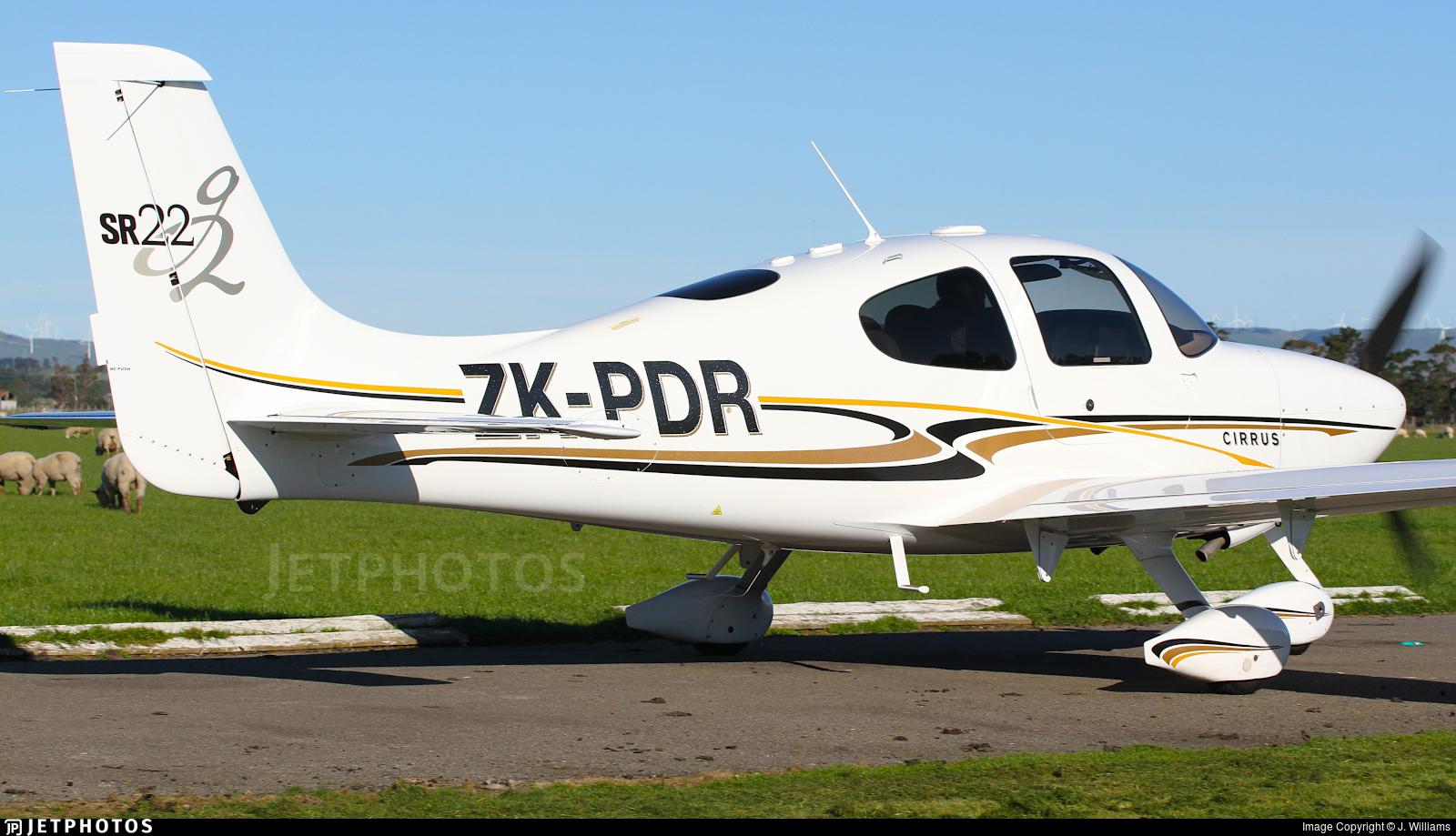 ZK-PDR - Cirrus SR22-G2 - Aerohire