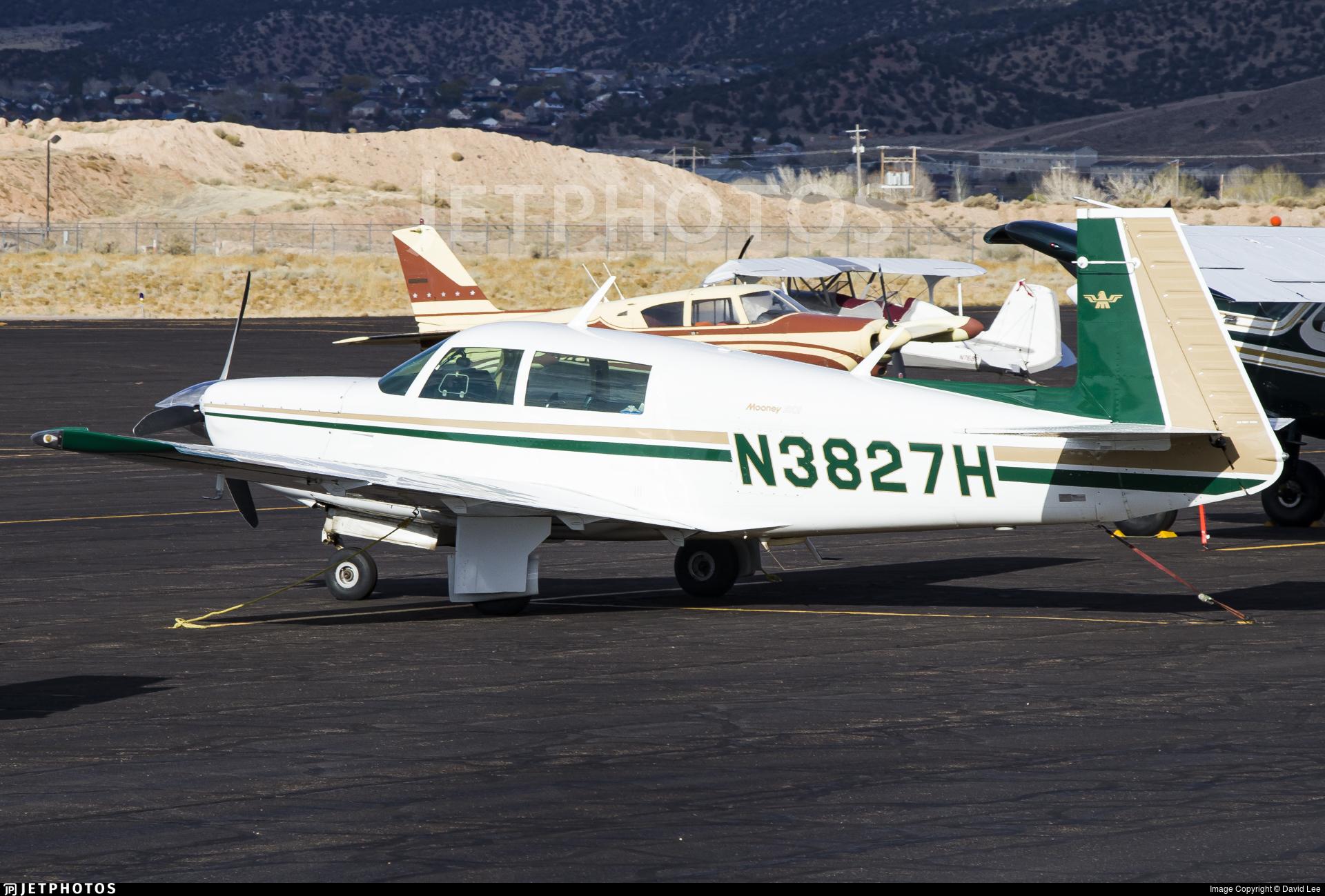 N3827H - Mooney M20J - Private