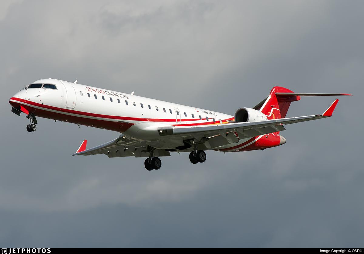 9N-AMO | Bombardier CRJ-701ER | Shree Airlines | OSDU | JetPhotos