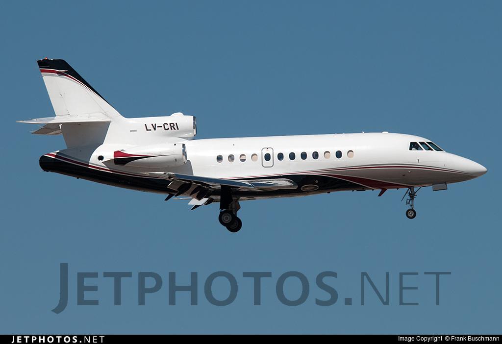LV-CRI - Dassault Falcon 900 - Royal Class
