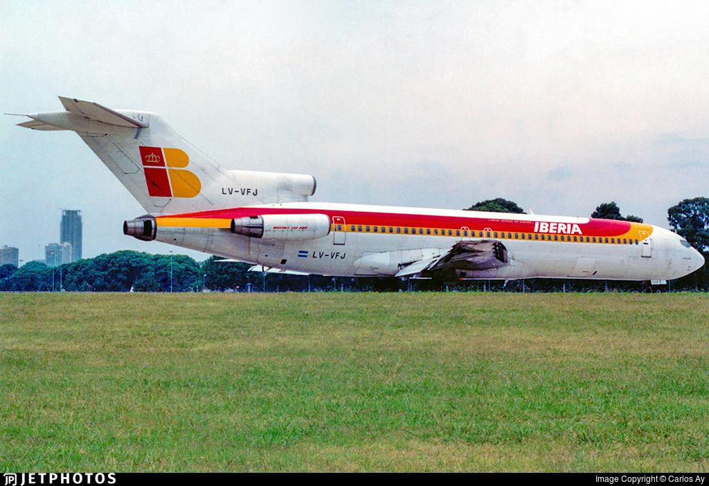 LV-VFJ - Boeing 727-256(Adv) - Aerol�neas Argentinas