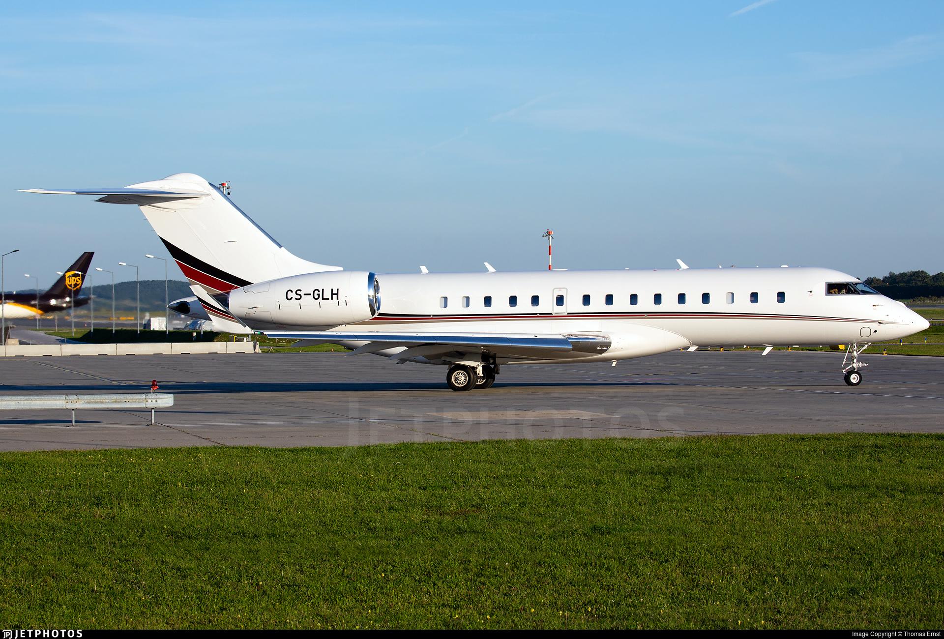 CS-GLH - Bombardier BD-700-1A10 Global 6000 - NetJets Europe