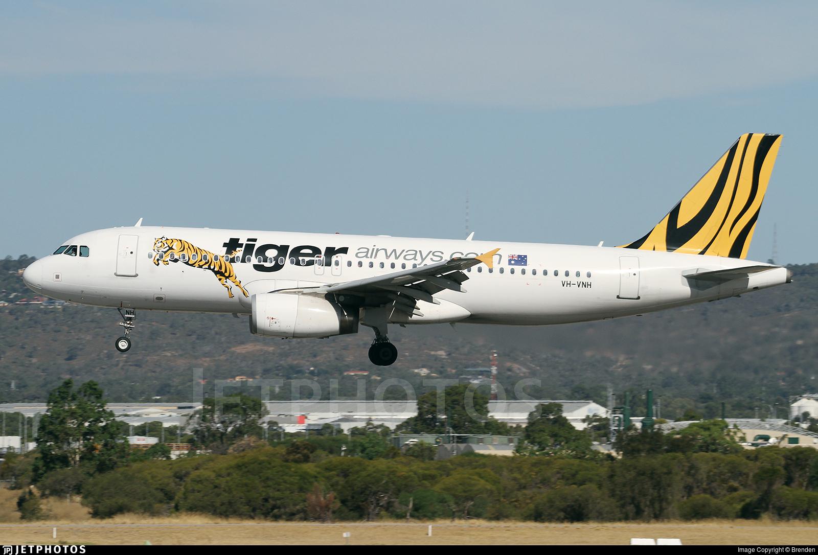 VH-VNH - Airbus A320-232 - Tiger Airways