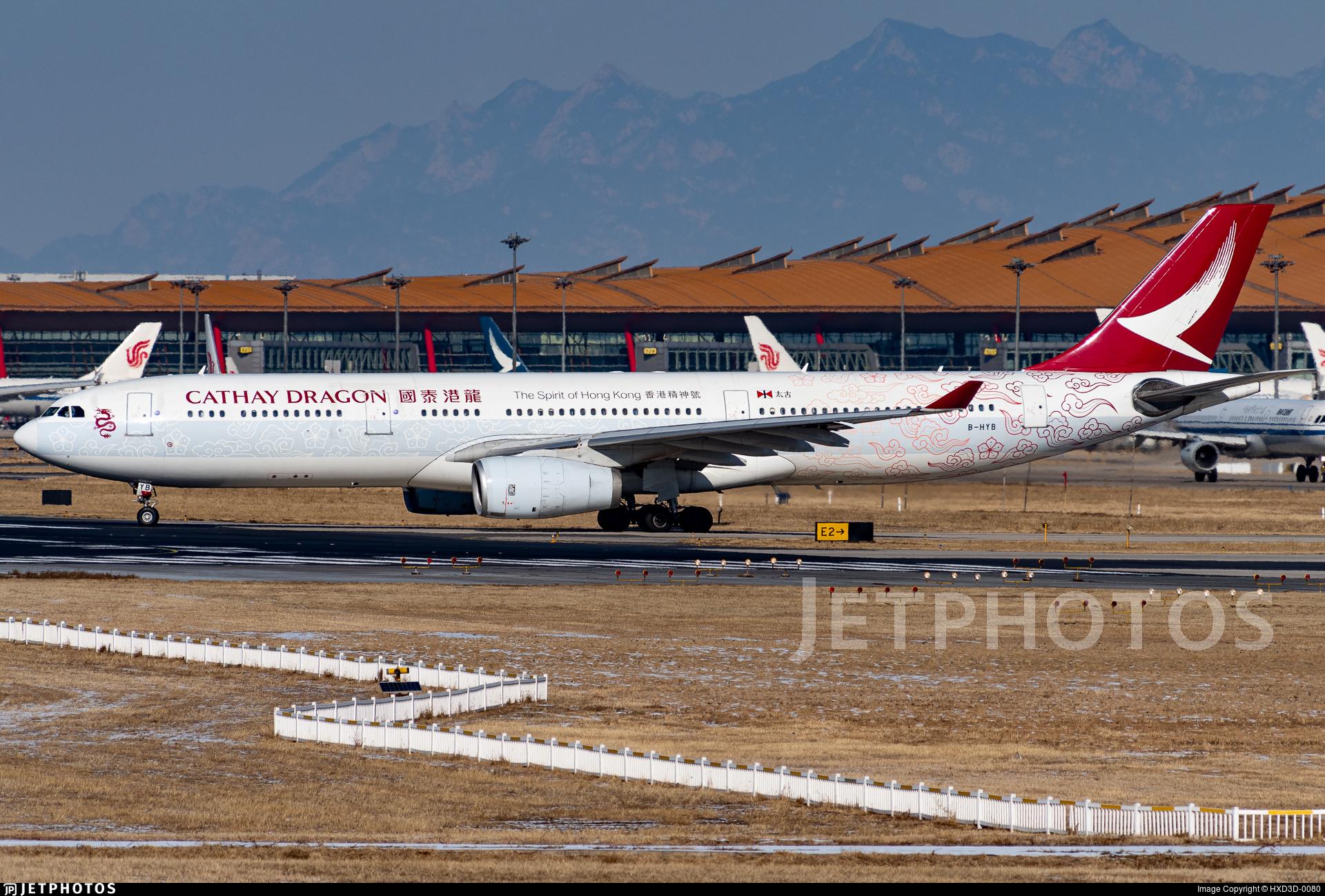 B-HYB - Airbus A330-342 - Cathay Dragon