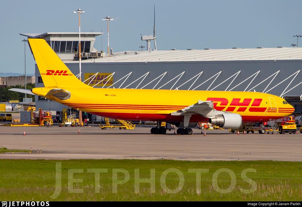 D-AZMO - Airbus A300F4-622R - DHL (European Air Transport)