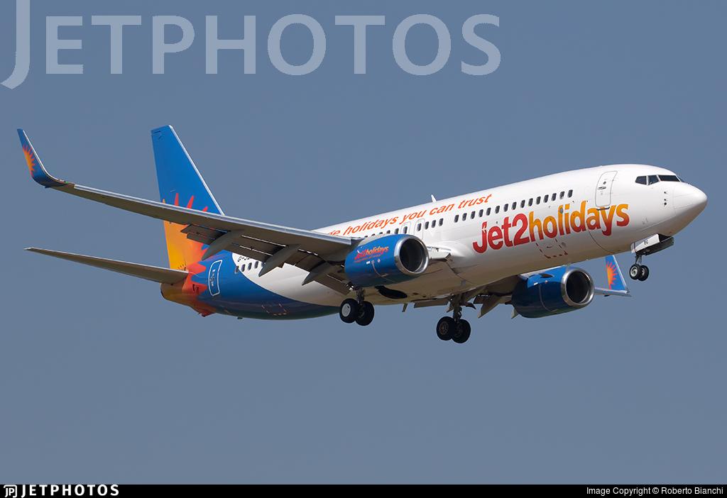G-JZBG - Boeing 737-8MG - Jet2.com