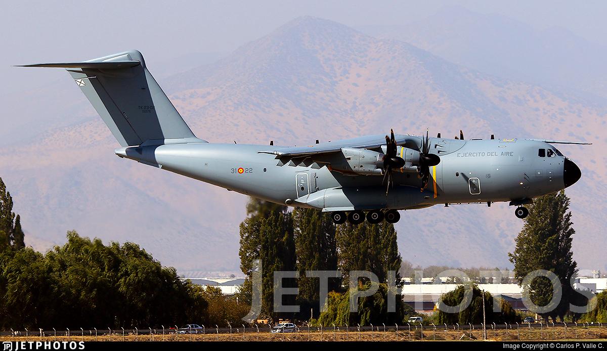 TK.23-02 - Airbus A400M - Spain - Air Force