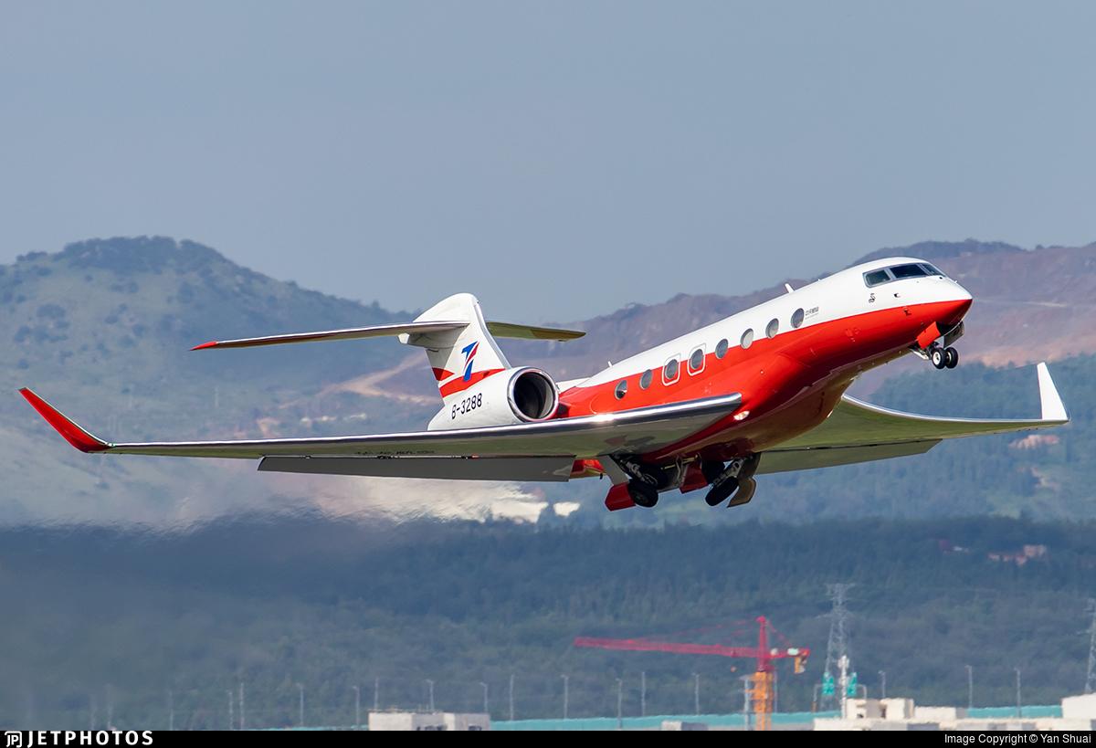 B-3288 - Gulfstream G650ER - Deer Jet