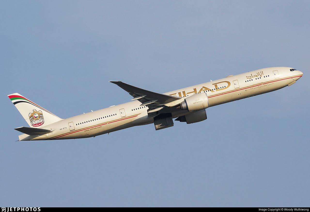 A6-ETS - Boeing 777-3FXER - Etihad Airways