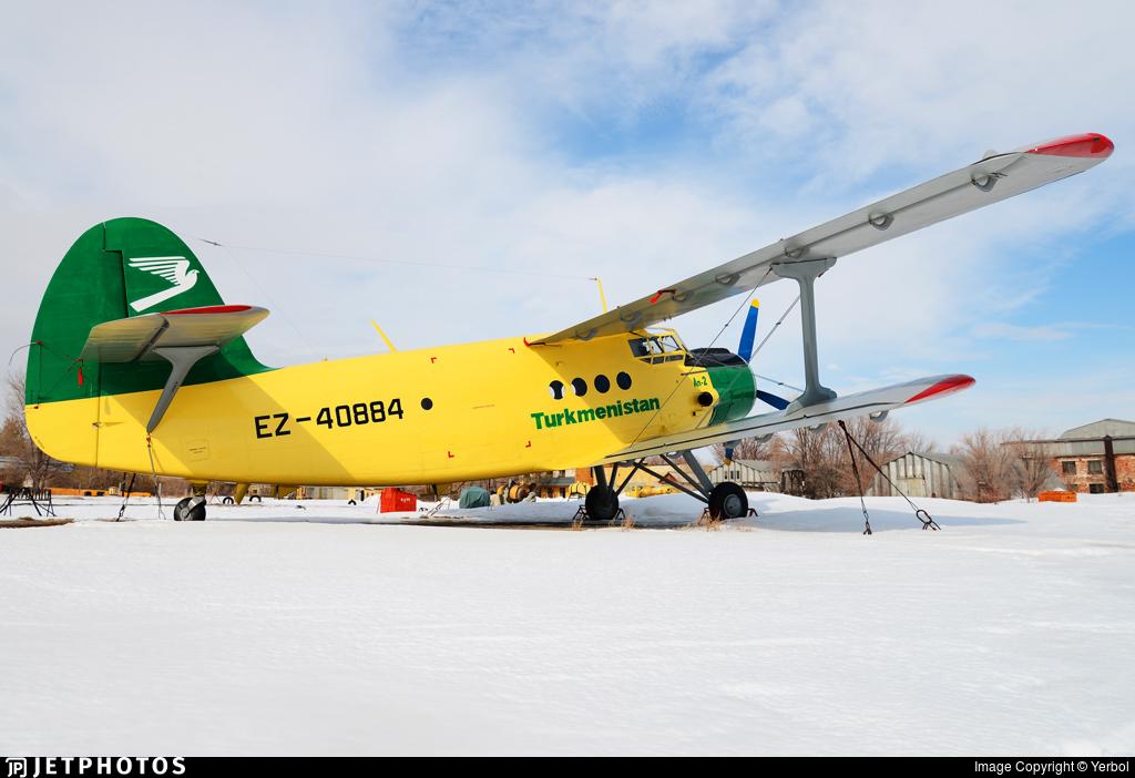 EZ-40884 - Antonov An-2 - Turkmenistan Airlines