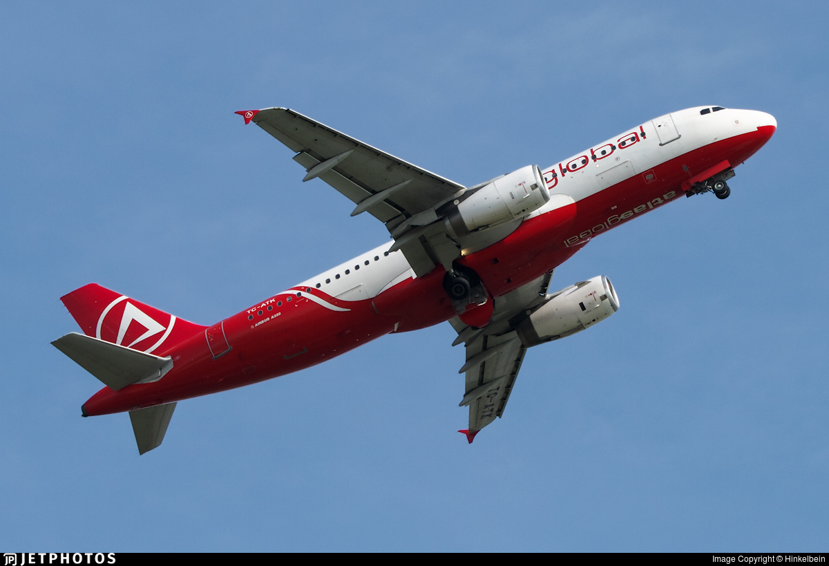 TC-ATK - Airbus A320-232 - AtlasGlobal