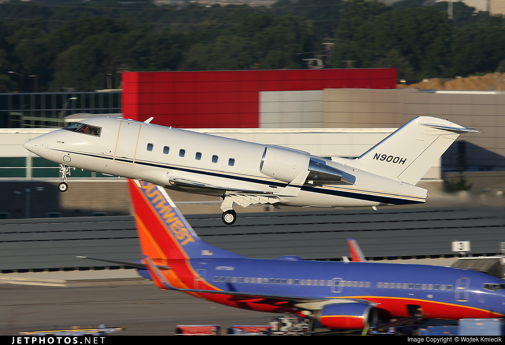 N900H - Bombardier CL-600-2B16 Challenger 601-3A - Private