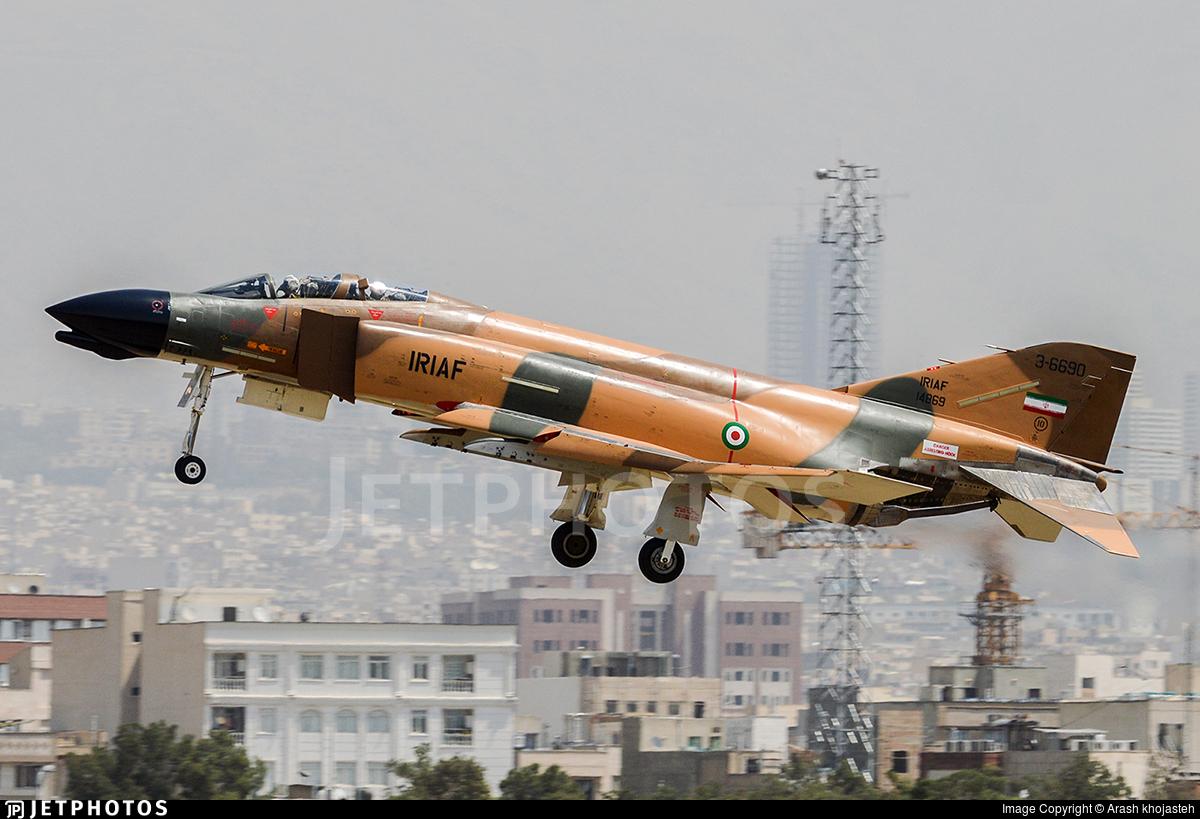 3-6690 - McDonnell Douglas F-4D Phantom II - Iran - Air Force