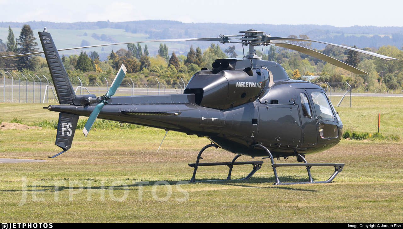 ZK-HFS - Eurocopter AS 355F2+ Ecureuil - Heletranz