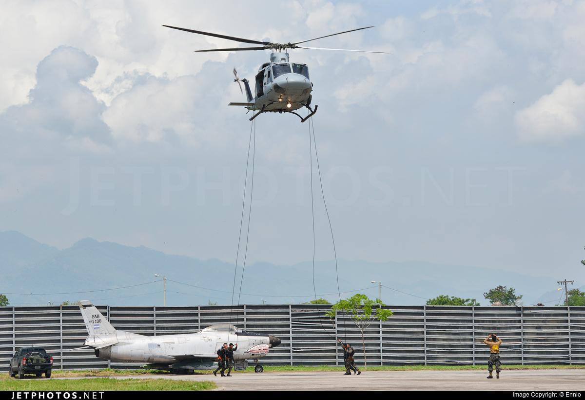 FAH-974 - Bell 412SP - Honduras - Air Force