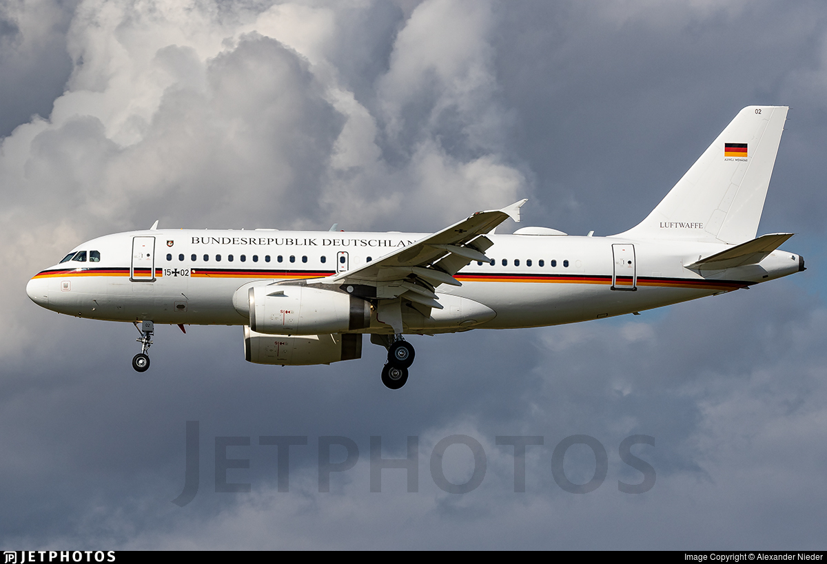 15-02 - Airbus A319-115X(CJ) - Germany - Air Force