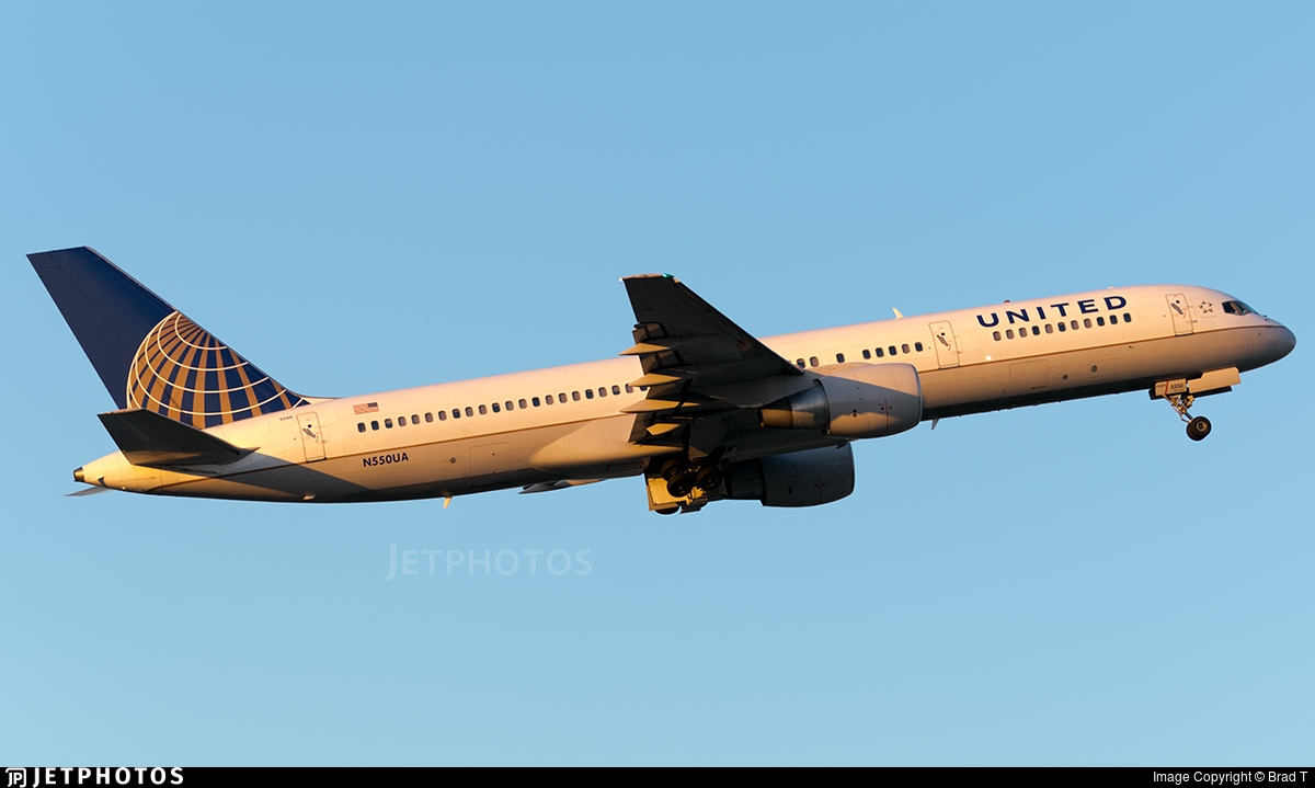 N550UA - Boeing 757-222 - United Airlines