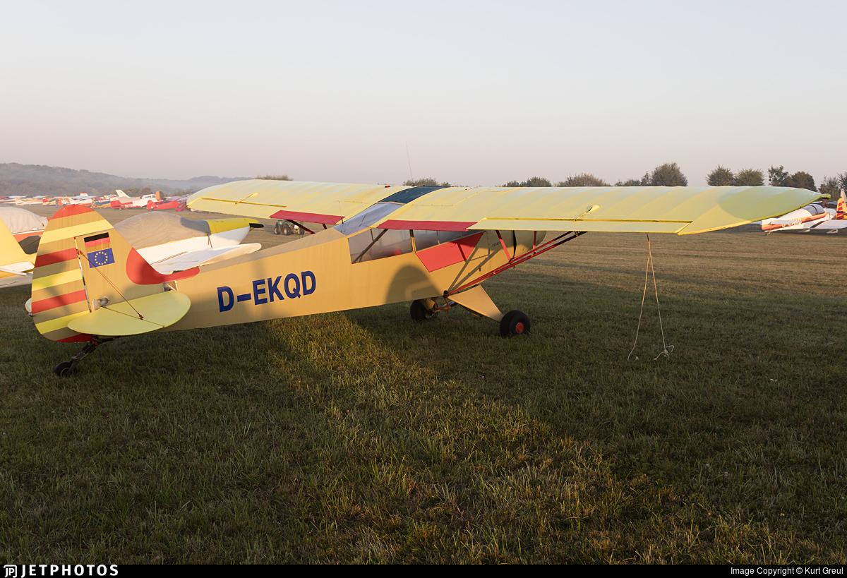 D-EKQD - Piper PA-18-95 Super Cub - Private