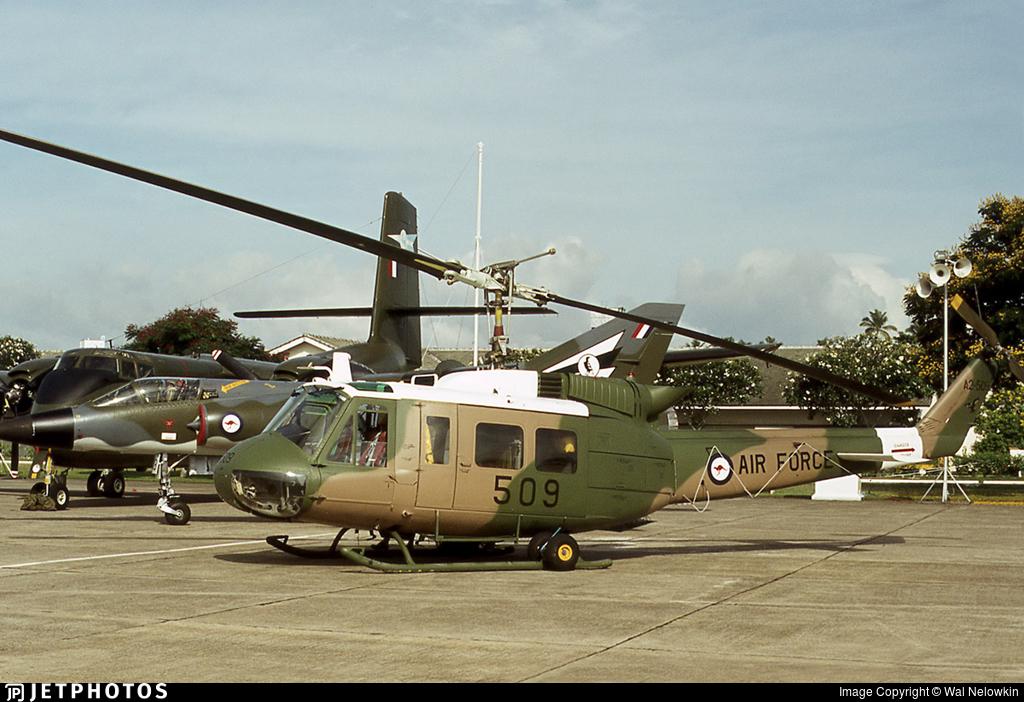 A2-509 - Bell UH-1H Iroquois - Australia - Royal Australian Air Force (RAAF)