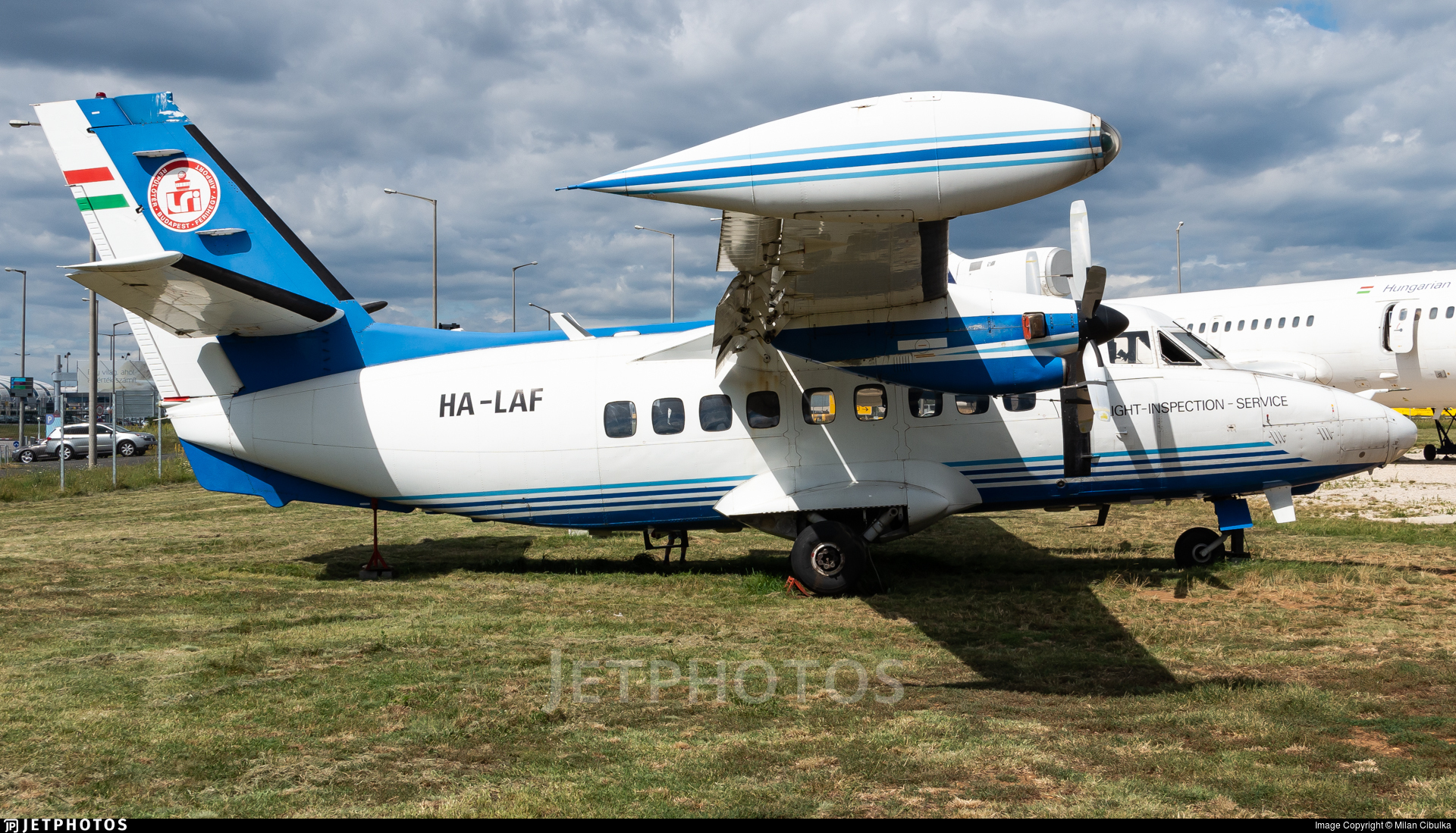 HA-LAF - LET L-410UVP-E8A Turbolet - Hungarian Airport Administration (LRI)