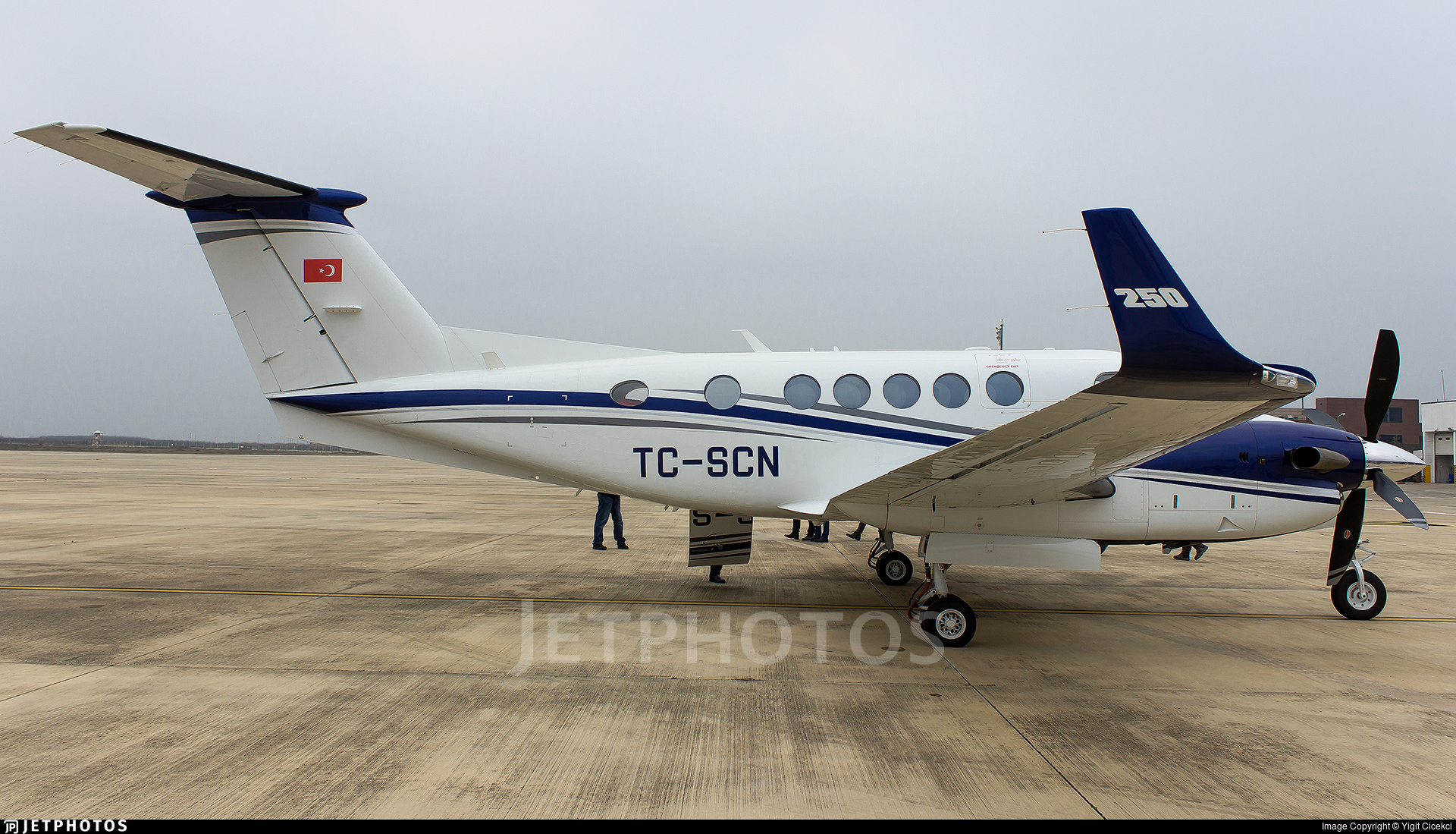 TC-SCN - Beechcraft B200GT King Air 250 - Private