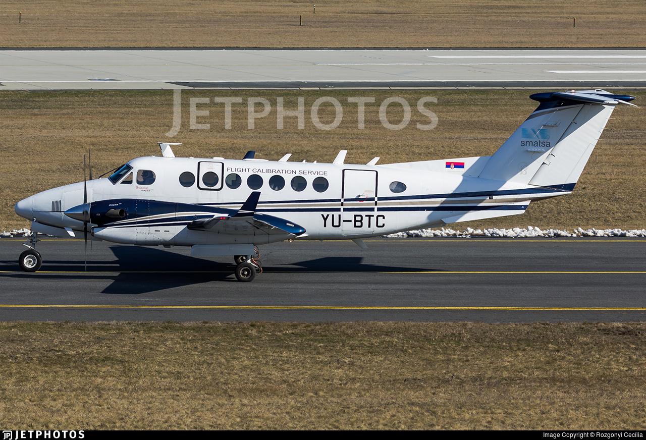YU-BTC | Beechcraft B300 King Air 350 | Flight Calibration Services