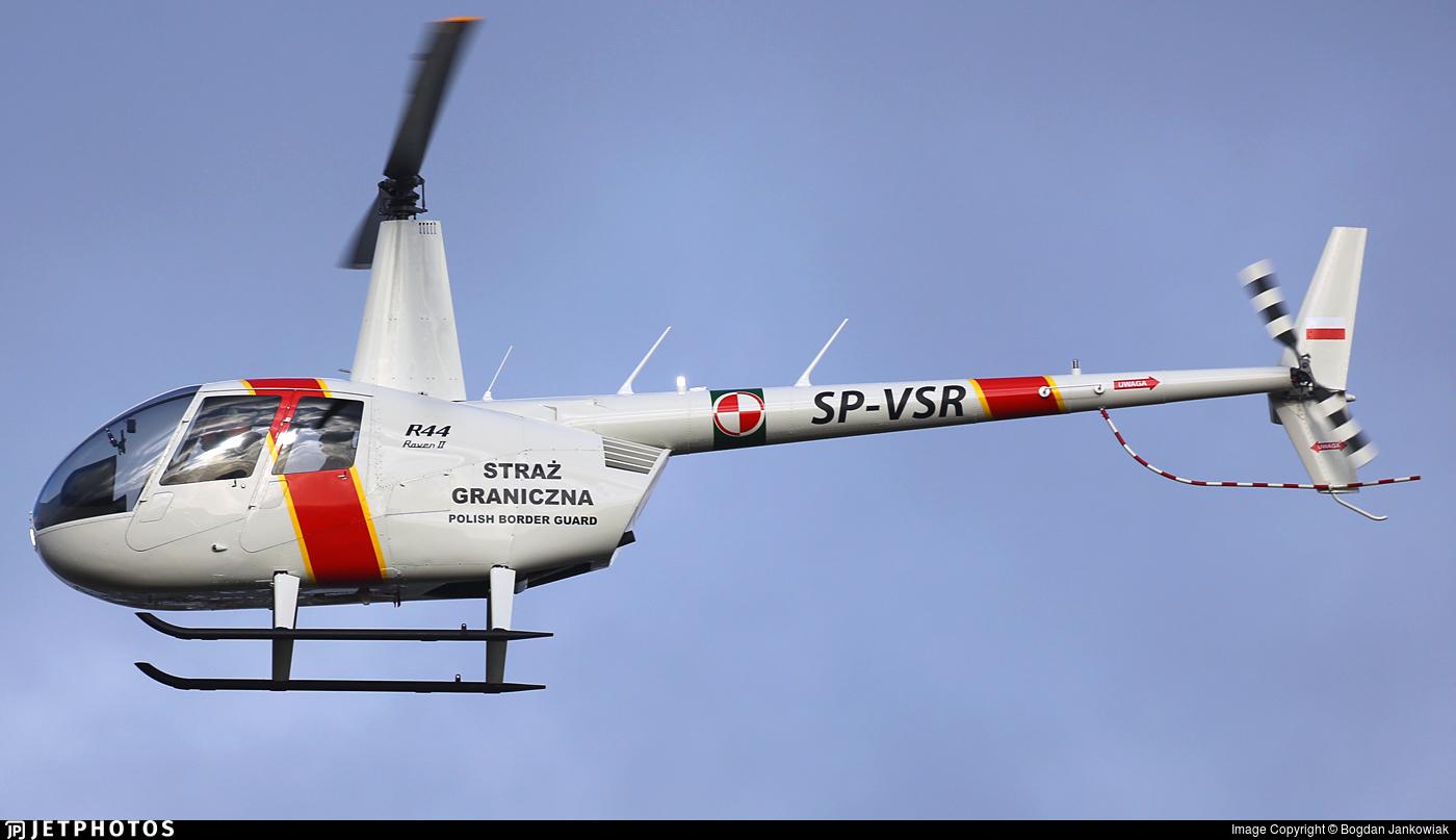 SP-VSR - Robinson R44 Raven II - Poland - Border Guard
