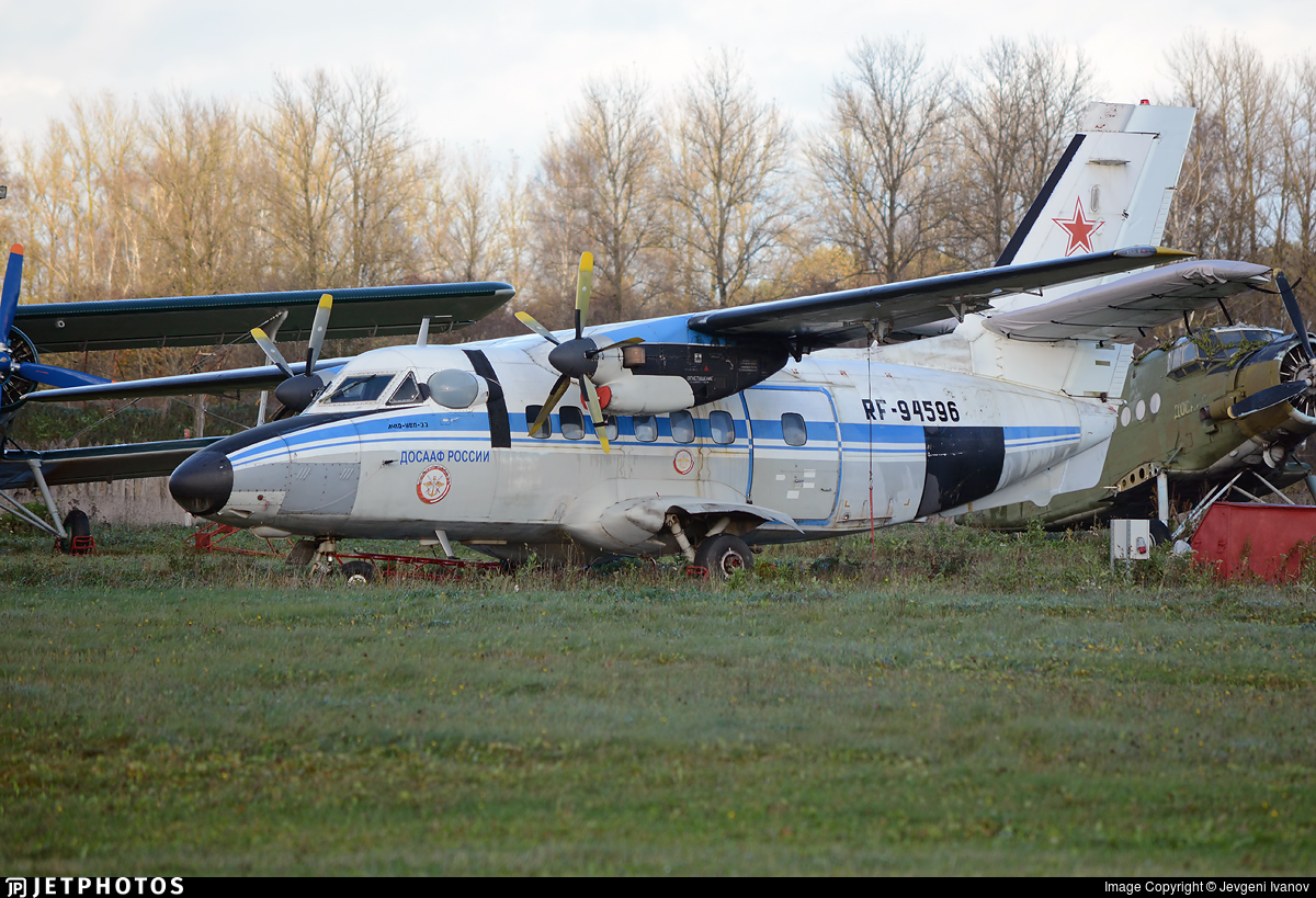 RF-94596 - Let L-410UVP-E3 Turbolet - Russia - Voluntary Society for Assistance to the Army, Air Force and Navy (DOSAAF)
