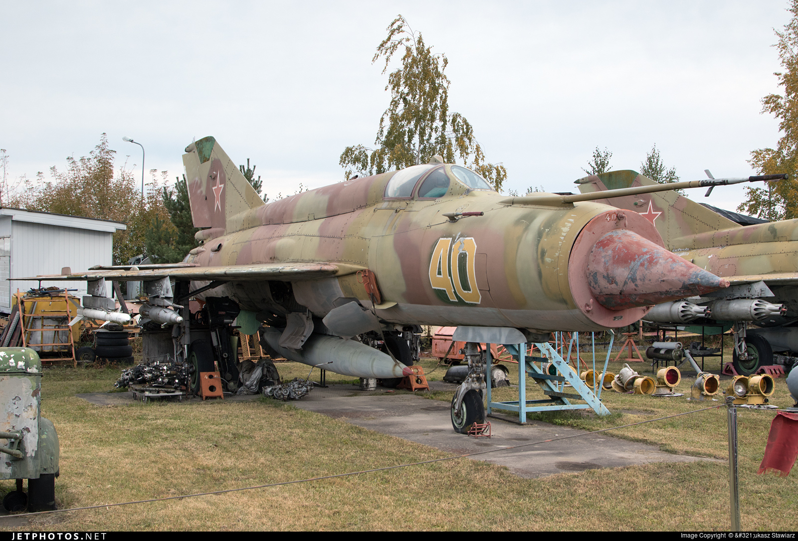 40 - Mikoyan-Gurevich MiG-21SMT Fishbed K - Russia - Air Force