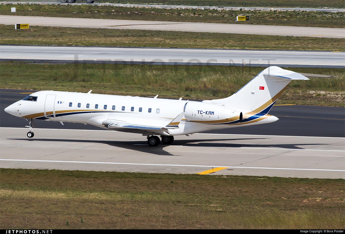 TC-KRM - Bombardier BD-700-1A11 Global 5000 - Çukurova Air