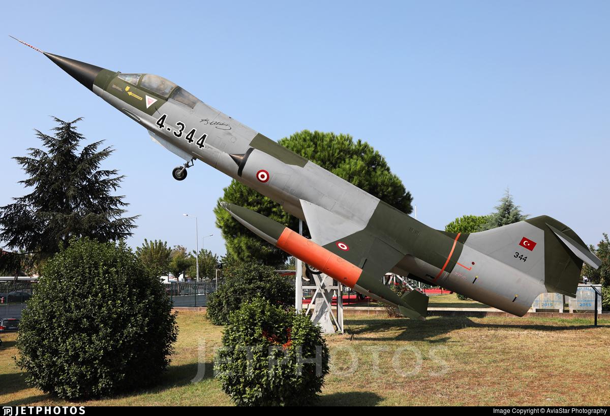 62-12344 - Lockheed F-104G Starfighter - Turkey - Air Force