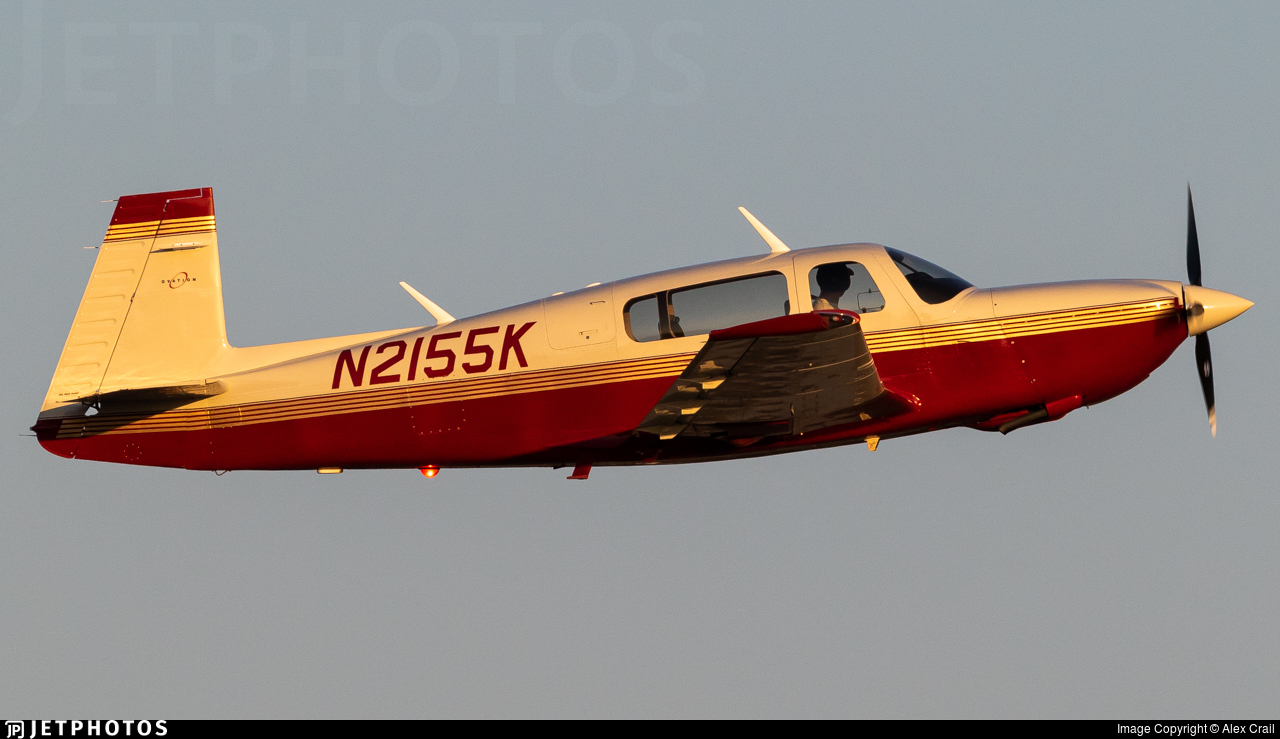 N2155K - Mooney M20R Ovation - Private