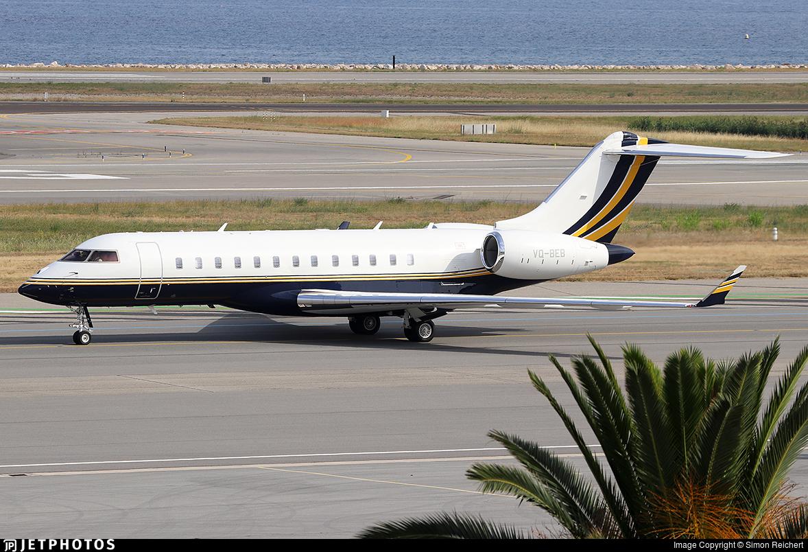 VQ-BEB - Bombardier BD-700-1A10 Global 6000 - Private