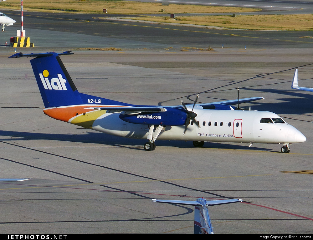 V2-LGI - Bombardier Dash 8-311 - Leeward Islands Air Transport (LIAT)