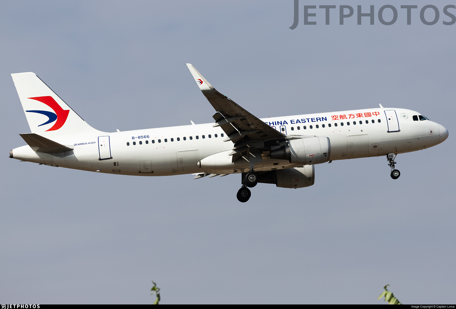 B-8566 - Airbus A320-214 - China Eastern Airlines