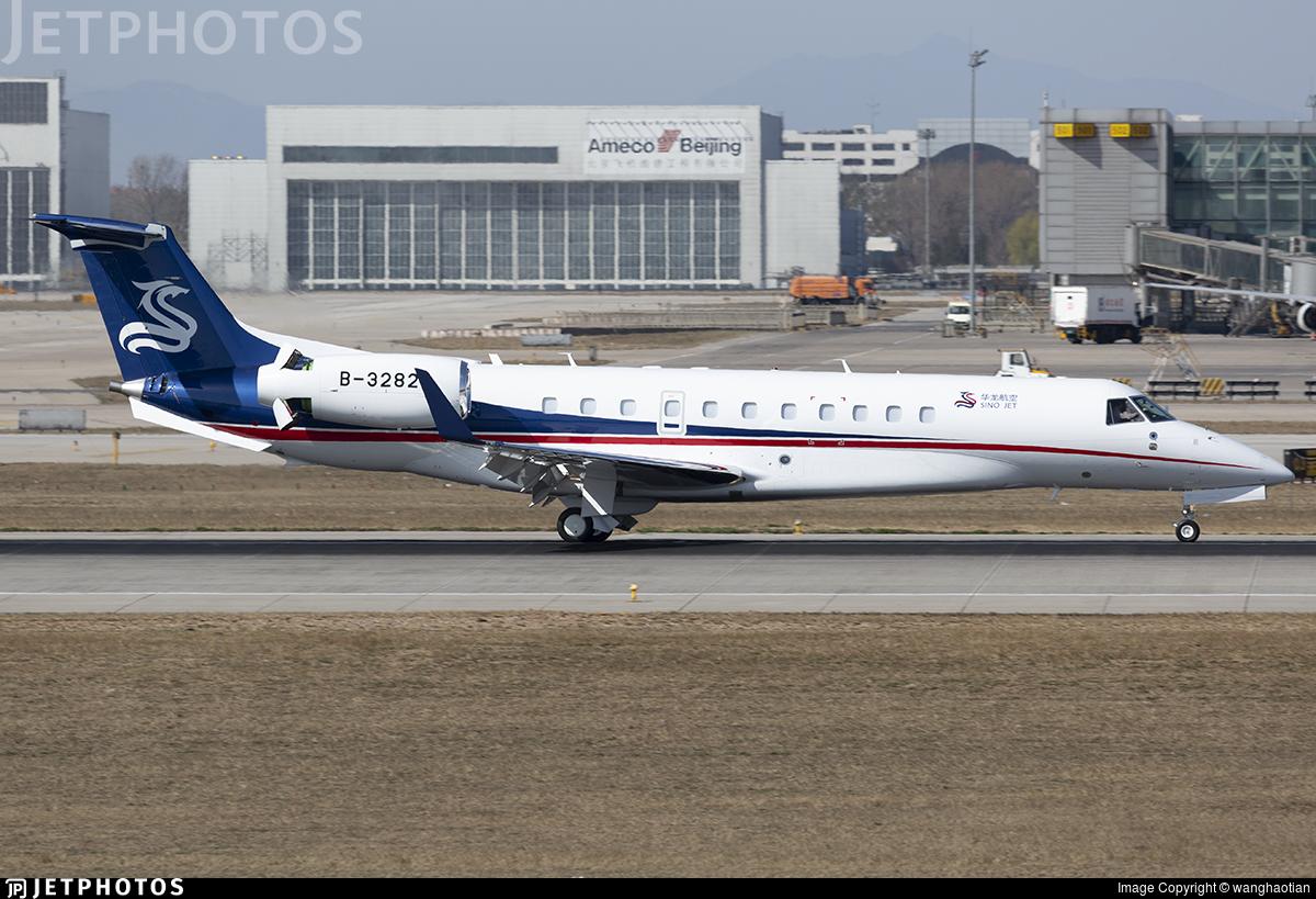 B-3282 - Embraer ERJ-135BJ Legacy 650 - Sino Jet